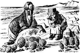 "The Walrus and The Carpenter, Courtesy of Google ""free to use images""."