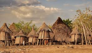 """African tribal village"" Courtesy of Google ""free to use"" images."