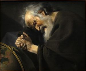 Heraclitus The weeping philosper.